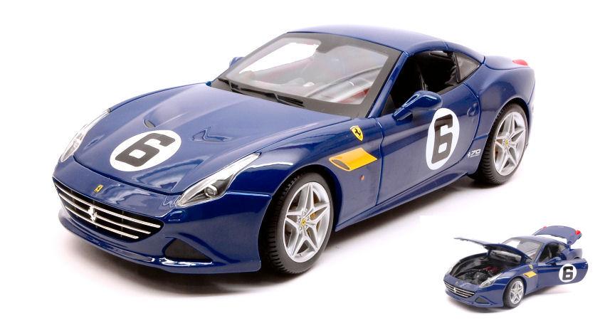 Modellino Auto Scala 1 18 Burago FERRARI CALIFORNIA T diecast modellismo coche
