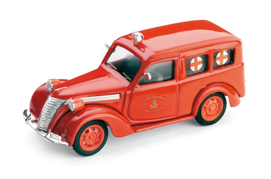 FIAT 1100 FURGONE CROCE ROSSA 1947 BRUMM SCALA 1//43 R179  BRUMM REVIVAL