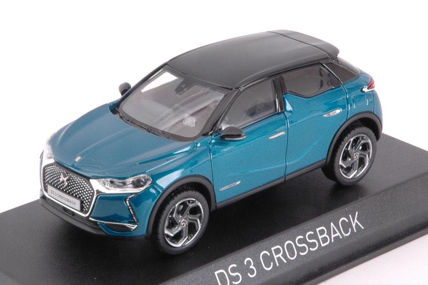 Citroen DS crossback 2019 Blue Black roof 1:43 norev