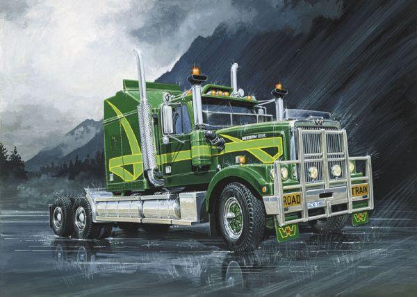 Modellino camion kit di montaggio Italeri  CAMION AUSTRALIAN TRUCK KIT 1 24 m...