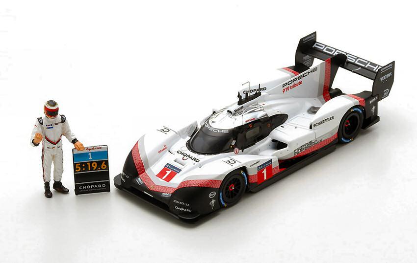 WAX Set Porsche 911 GT2 RS // GT3 RS Lap Record Nürburgring Minichamps 1:43